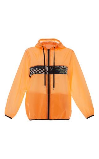 Medium msgm orange neon orange windbreaker