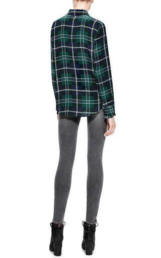 Shya Mid Rise Skinny Jeans by GENETIC LOS ANGELES Now Available on Moda Operandi