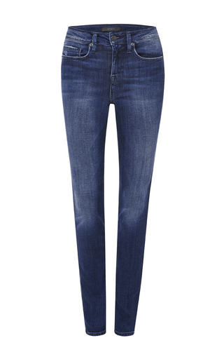 Medium genetic denim blue adolescent slim high rise skinny