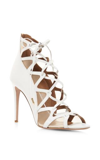Medium aquazzura white french lover sandal