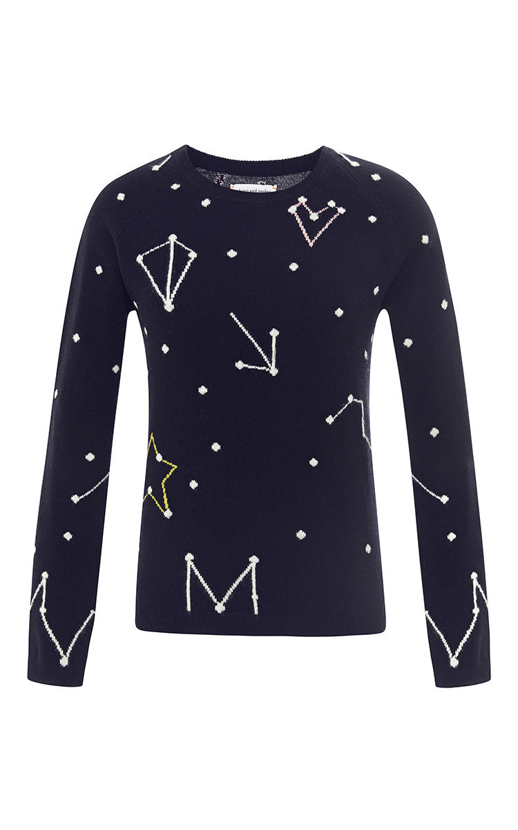 2ab0aa0897 Chinti and ParkerConstellation-Intarsia Cashmere Sweater. CLOSE. Loading