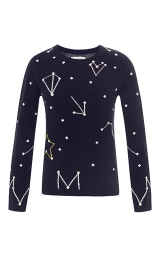 Medium chinti and parker navy navy constellation sweater