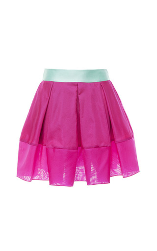 Medium antonio berardi pink magenta box pleated skirt