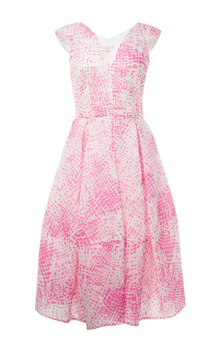Medium antonio berardi pink sleeveless dress with full skirt