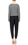 Black Silk Jogging Pants by ATM Now Available on Moda Operandi