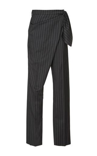 Medium j w anderson dark grey single knot trousers