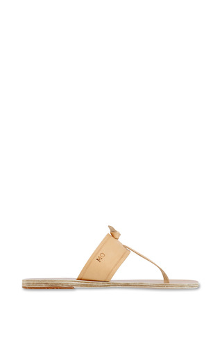 Melina Sandal In Natural by ANCIENT GREEK SANDALS Now Available on Moda Operandi