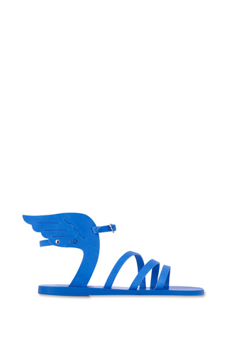 Medium ancient greek sandals blue ikaria sandal in all blue
