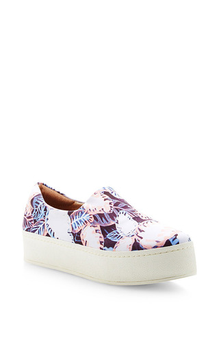 Medium opening ceremony pink slip on platform sneaker