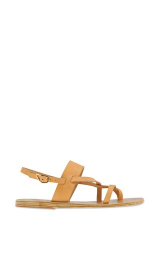 Medium ancient greek sandals brown alethea sandal in nude 2