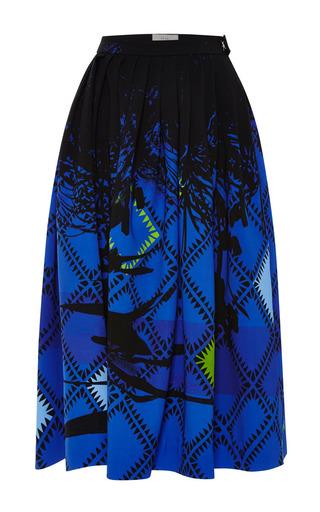 Medium preen blue milton skirt