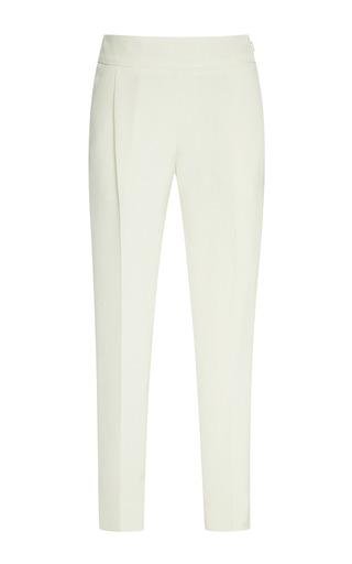 Medium giambattista valli white cotton trousers