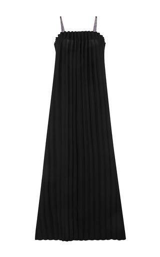 Medium opening ceremony black lotte pleated maxi dress