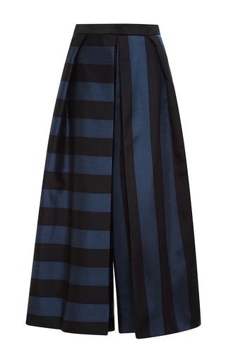 Medium tibi black pleated pant