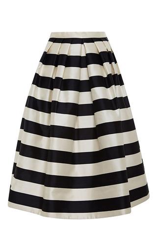 Medium tibi multi pleated full skirt