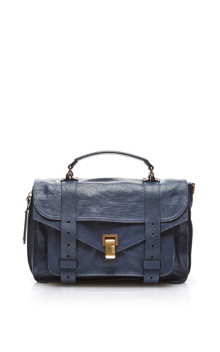 Ps1 Medium Leather Satchel by PROENZA SCHOULER Now Available on Moda Operandi