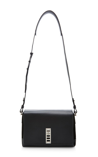Medium proenza schouler black elliot crossbody bag in black