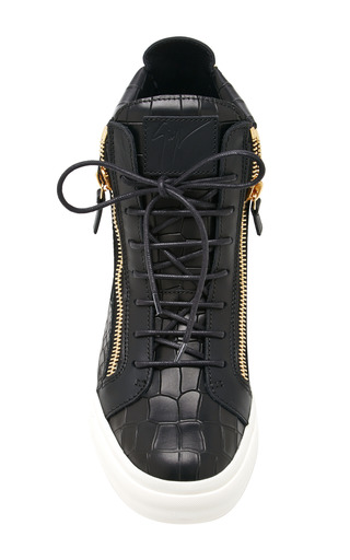 London High Top Sneakers by GIUSEPPE ZANOTTI Now Available on Moda Operandi