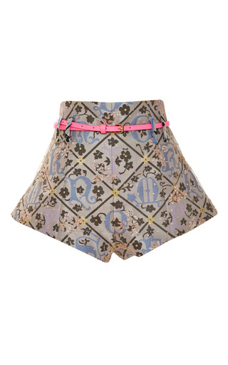 Medium mary katrantzou multi blossom jacquard bloomers