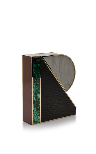 R Clutch by MARY KATRANTZOU for Preorder on Moda Operandi