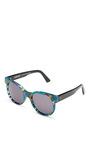Avida Acetate Sunglasses by ZANZAN Now Available on Moda Operandi