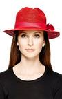 Crochet Trimmed Classic Panama Hat by SENSI STUDIO Now Available on Moda Operandi