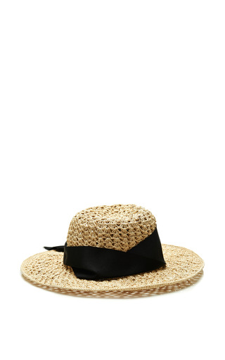 Medium sensi studio brown hippie floppy hat style in natral and black
