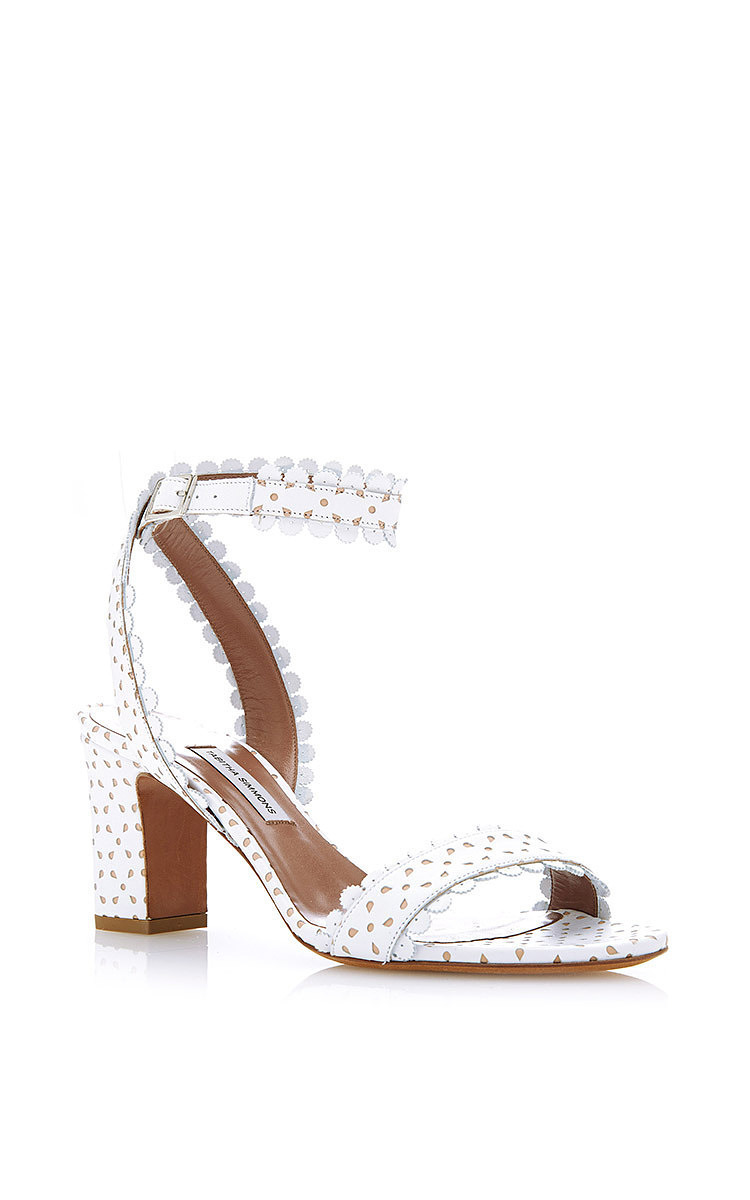 Tabitha Simmons Leather Slingback Sandals free shipping low shipping xOulo