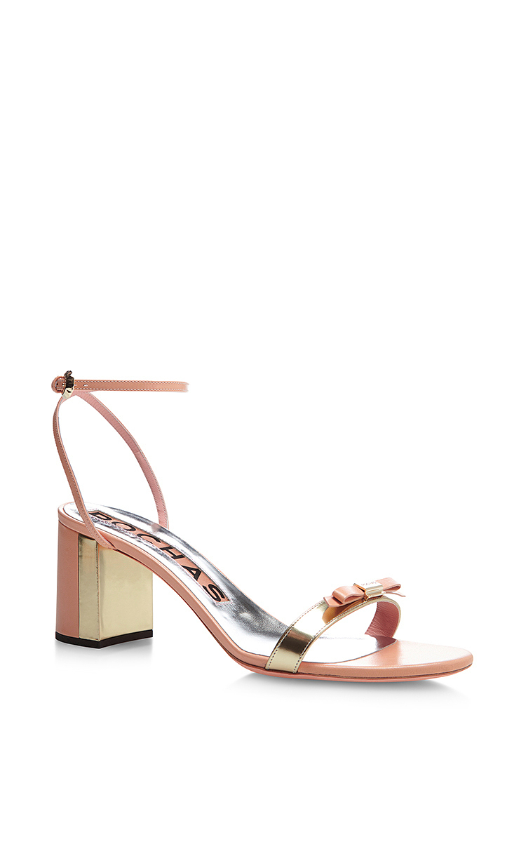 Rochas Leather Sandal