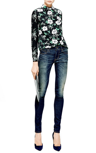 Skinny Faded Jeans by 6397 DENIM Now Available on Moda Operandi