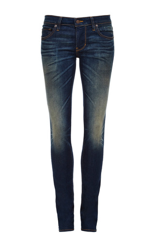 Medium 6397 denim blue dark and dirty skinny jeans