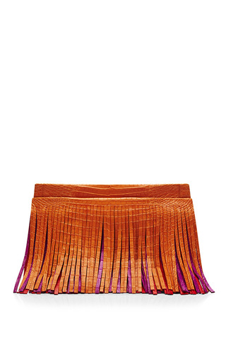 Medium nancy gonzalez multi multi three belly fringe shoulder bag