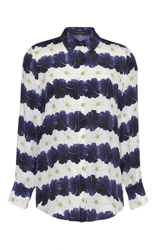 Keres Shirt In Bloom Stripe by MOTHER OF PEARL Now Available on Moda Operandi