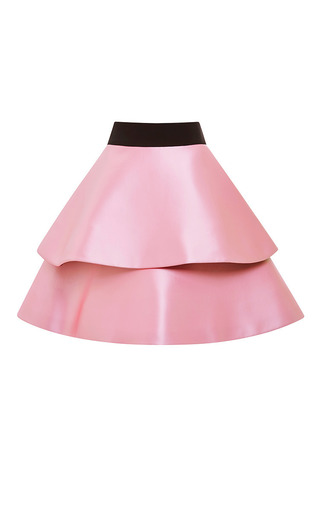 Medium fausto puglisi pink pink ruffle skirt