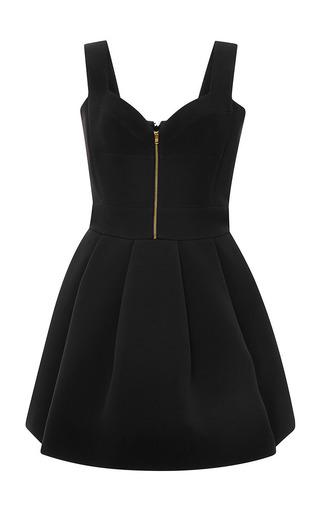 Medium fausto puglisi black black cady sweatheart dress