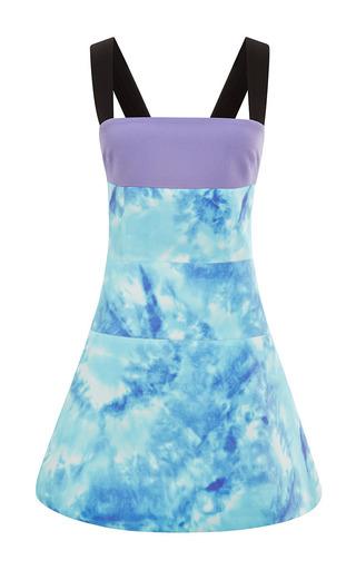 Medium fausto puglisi multi tie dye cady dress