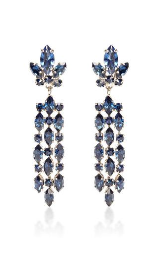 1950 S Chandelier Clip On Earrings by HOUSE OF LAVANDE for Preorder on Moda Operandi
