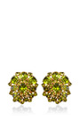 1950 S Schreiner Cluster Clip On Earrings by HOUSE OF LAVANDE for Preorder on Moda Operandi