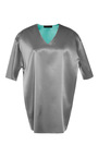 Grey Turquoise Finn T Shirt by JONATHAN SAUNDERS for Preorder on Moda Operandi