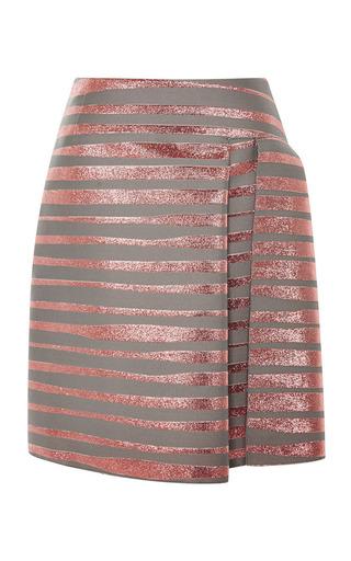 Medium jonathan saunders dark grey esther skirt