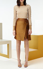 Silk Wool Jacquard Vida Skirt by JONATHAN SAUNDERS for Preorder on Moda Operandi