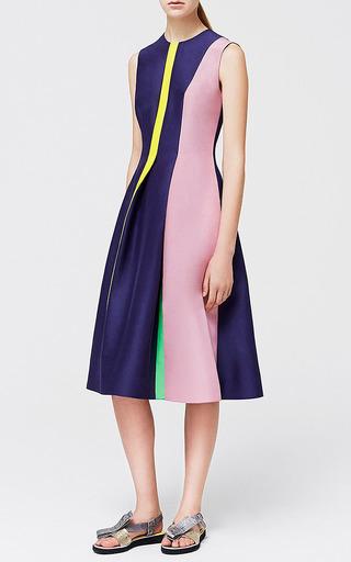 Navy Oakes Dress by ROKSANDA for Preorder on Moda Operandi