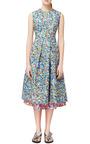 Roksanda Blue Print Oakes Dress by ROKSANDA Now Available on Moda Operandi