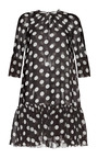Dots Black Ivory Baby Doll Polka Dot Dress by MARTIN GRANT Now Available on Moda Operandi