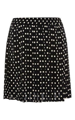 Medium piamita unknown color andalusia polka dot skirt