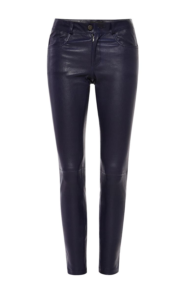 e0ef6e57e2d346 Jeannie Matte Stretch-Leather Pants by Joseph | Moda Operandi