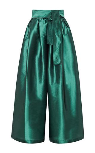 Medium tome green taffeta karate pant 3