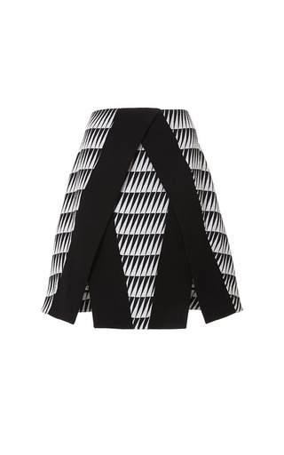 Triangle Jacquard Emmy Skirt by TANYA TAYLOR for Preorder on Moda Operandi