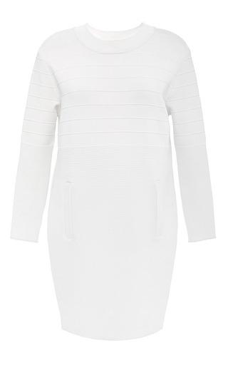 White Alejandra Dress by TIMO WEILAND for Preorder on Moda Operandi