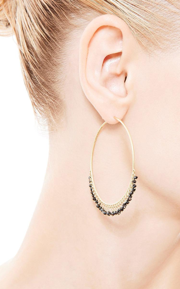 1f95bd3c6 Me & RoLarge Diamond Endless Hoop Earrings. CLOSE. Loading. Loading